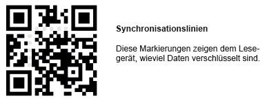 qr-code Synchronisierung